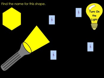 Turn On The Lights Shapes (SmartBoard Lesson)
