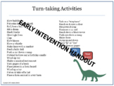 Turn-taking Activities for Toddlers and Preschoolers, Earl
