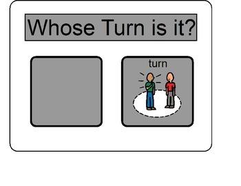 Turn Taking Board