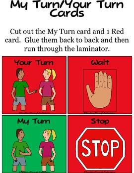Turn Taking Cards