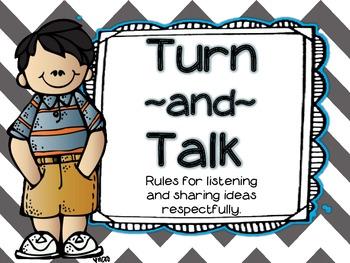 Turn & Talk Posters
