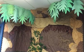 Turn Your Classroom or Child's Bedroom into a Stone Age Caveroom ~ Book Only
