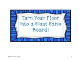 Turn Your Floor into a Giant Game Board