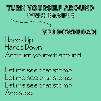 Turn Yourself Around: Movement and Action Song MP3