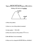 Turn a Mountain into a Molehill