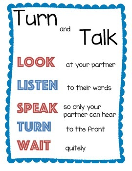 Turn and Talk