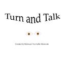 Turn and Talk Anchor Chart