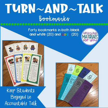 Turn-and-Talk Bookmarks