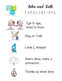 Turn and Talk Expectations Poster