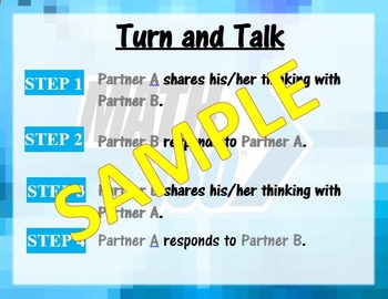 Turn and Talk- Math 180 Classroom Routines