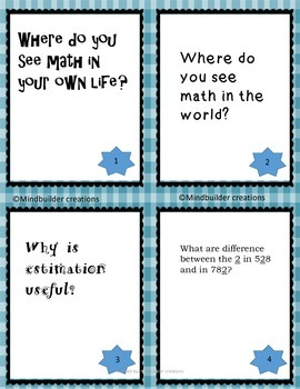 Turn and Talk Place Value Discussion Prompts