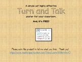 Turn and Talk Poster