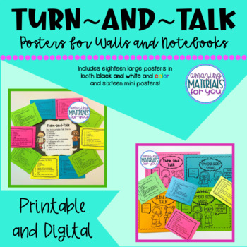 Turn-and-Talk Posters