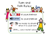 Turn and Talk Rules