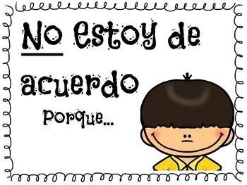 Turn and Talk-Spanish