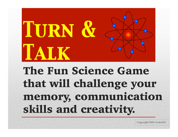 Turn and Talk: The Engaging Science Vocabulary Activity.