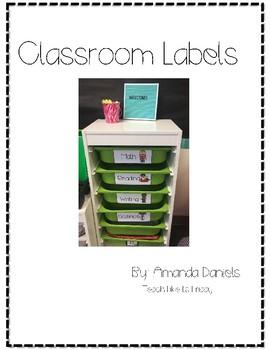 Turn in bucket labels