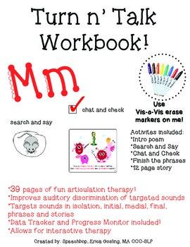 Turn-n'-Talk Workbook! Mm