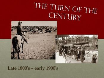 Turn of the Century Powerpoint