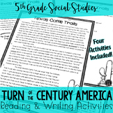 Turn of the Century America Reading & Writing Activities BUNDLE (SS5H1)