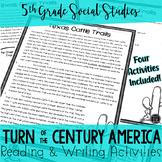 Turn of the Century America Reading & Writing Activities B