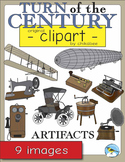 Turn of the Century Artifacts Clip Art