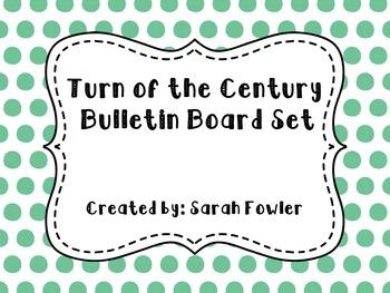 Turn of the Century (SS5H3) Bulletin Board Set