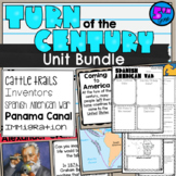 Turn of the Century Bundle 5th grade Lessons, Test, Powerpoints, Notes (SS5H1)