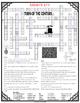 Turn of the Century Comprehension Crossword