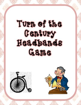 Turn of the Century Headbands Game