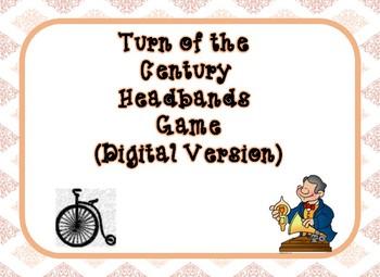 Turn of the Century Headbands Game (Digital Version)