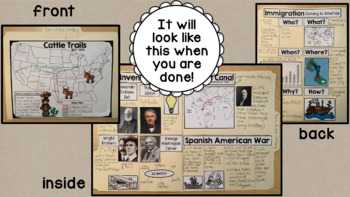 Turn of the Century Interactive Scrapbook SS5H3