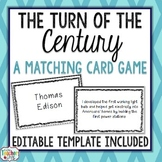 Turn of the Century Card Game