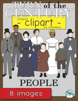 Turn of the Century People Clip Art
