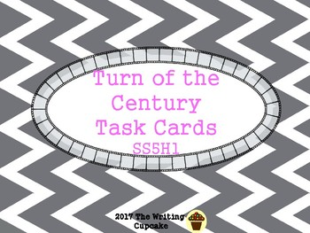 Turn of the Century Task Cards SS5H3:  5th grade Georgia S