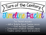 Turn of the Century Timeline Packet
