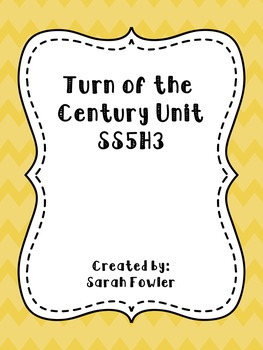 Turn of the Century Unit/SS5H3