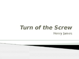 Turn of the Screw Background