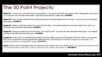 Turn of the Screw: The 50 Point Project