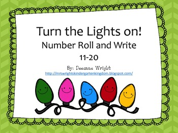Turn on the Lights! roll and write 11-20