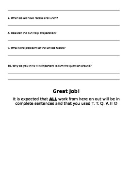 Turn the Question Around TTQA
