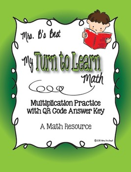My Turn to Learn Task Cards: Multiple Digit Multiplication