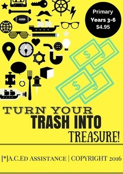 Turn your Trash into Treasure! Design and Technologies project