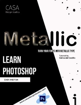 Turn your fonts into metallic fonts