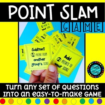 Turn your questions into A GAME with POINT SLAM