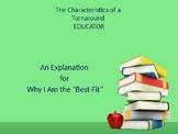 Turnaround Educator's Presentation