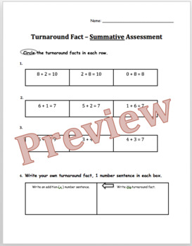Turnaround Fact Assessments