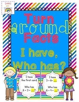 Turnaround Facts I Have, Who Has?