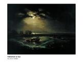 Turner Fishermen at Sea Romantic Era
