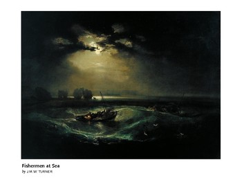 Turner Fishermen at Sea Romantic Era